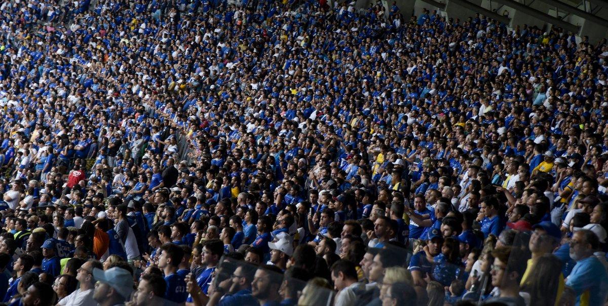 Estreia em casa do Cruzeiro teve o maior público dos brasileiros na Libertadores https://t.co/irJCbZQDBB