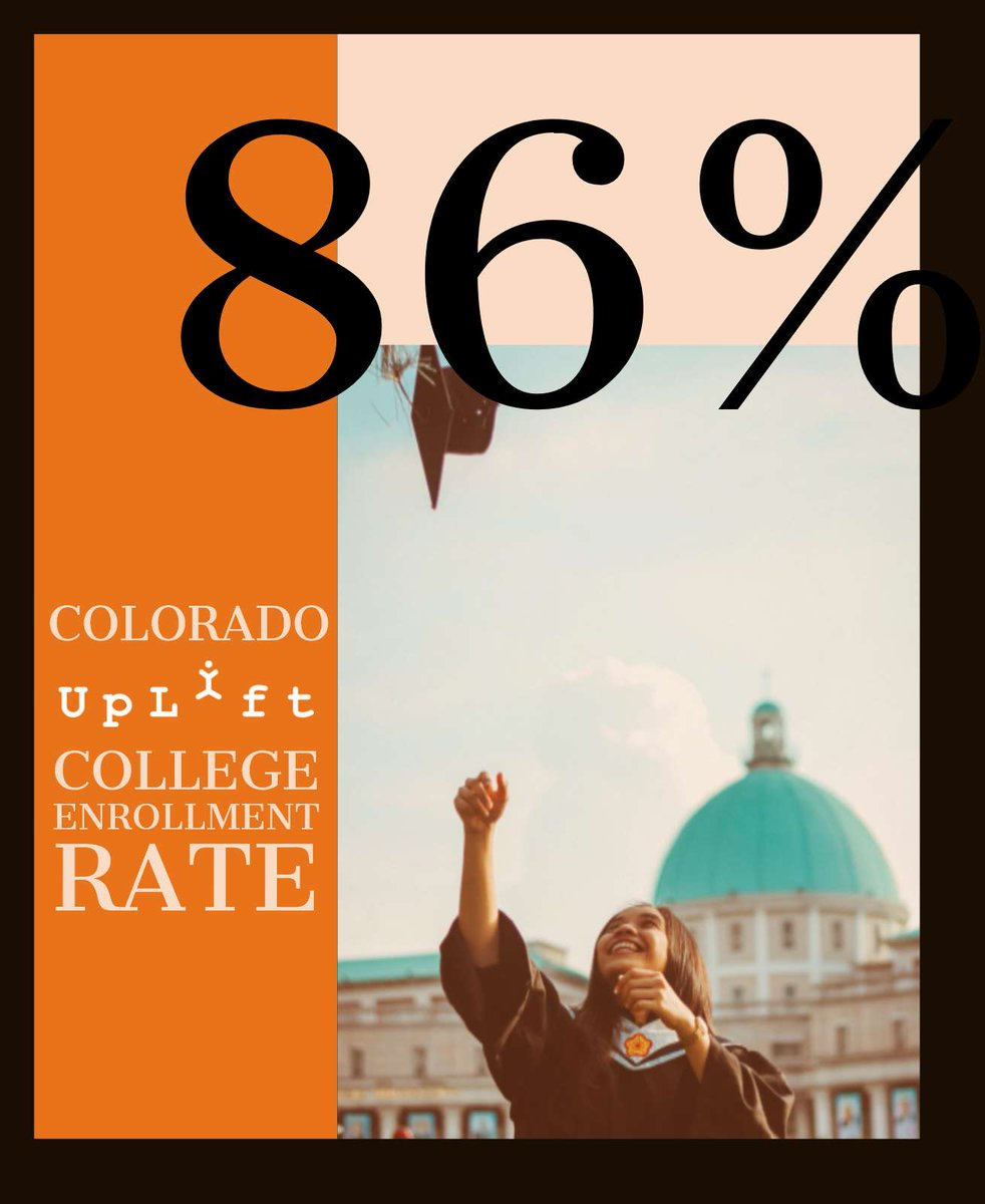 Graduating high school isn't the end of the road. It's just the beginning. #collegeenrollment #moreinstore