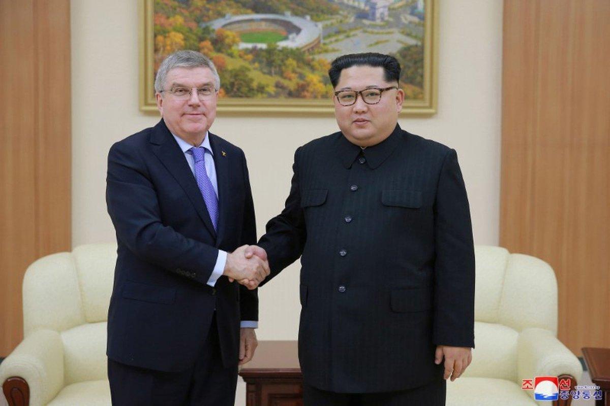 Japão discute com o COI a participação da Coreia do Norte na Olimpíada de Tóquio 2020 https://t.co/ElphlenvCL