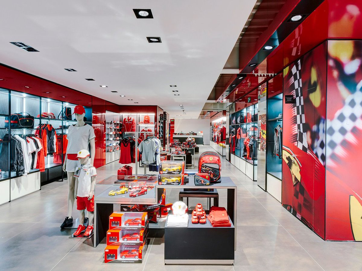 ferrari official shop