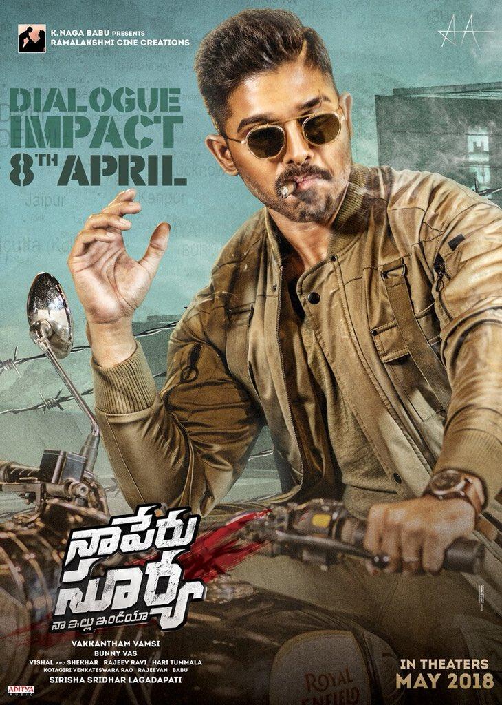 Allu Arjun On Twitter Dialogue Impact On 8th April Nsni