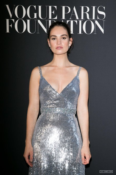 Happy birthday to the one and only lily james