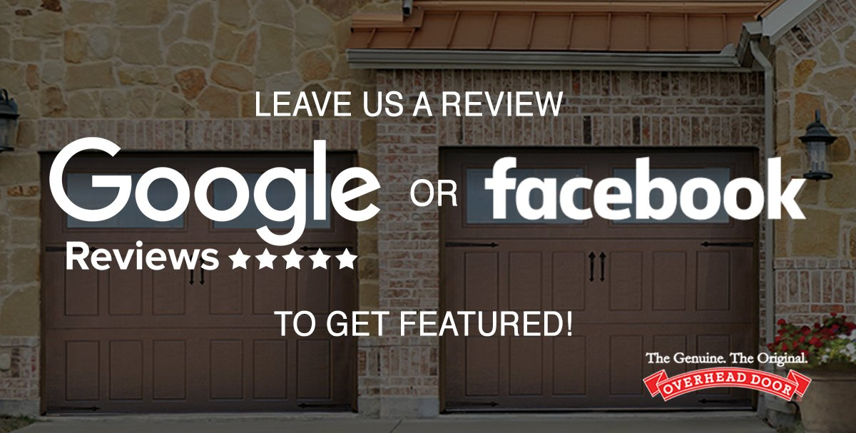 Good Leave A Review About Your Experience With Overhead Door Of Tampa Bay To Be  Featured On Our Facebook Page!  Https://www.facebook.com/pg/OverheadTampa/reviews/ ...