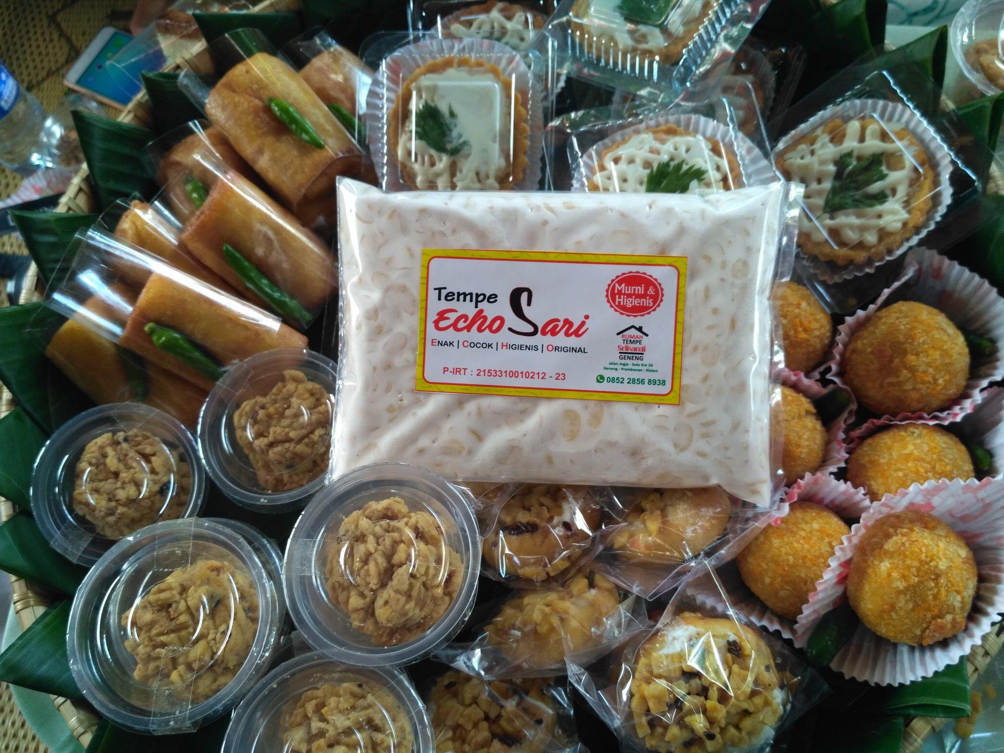 Tempe Echo Sari dan aneka kuliner dari tempe