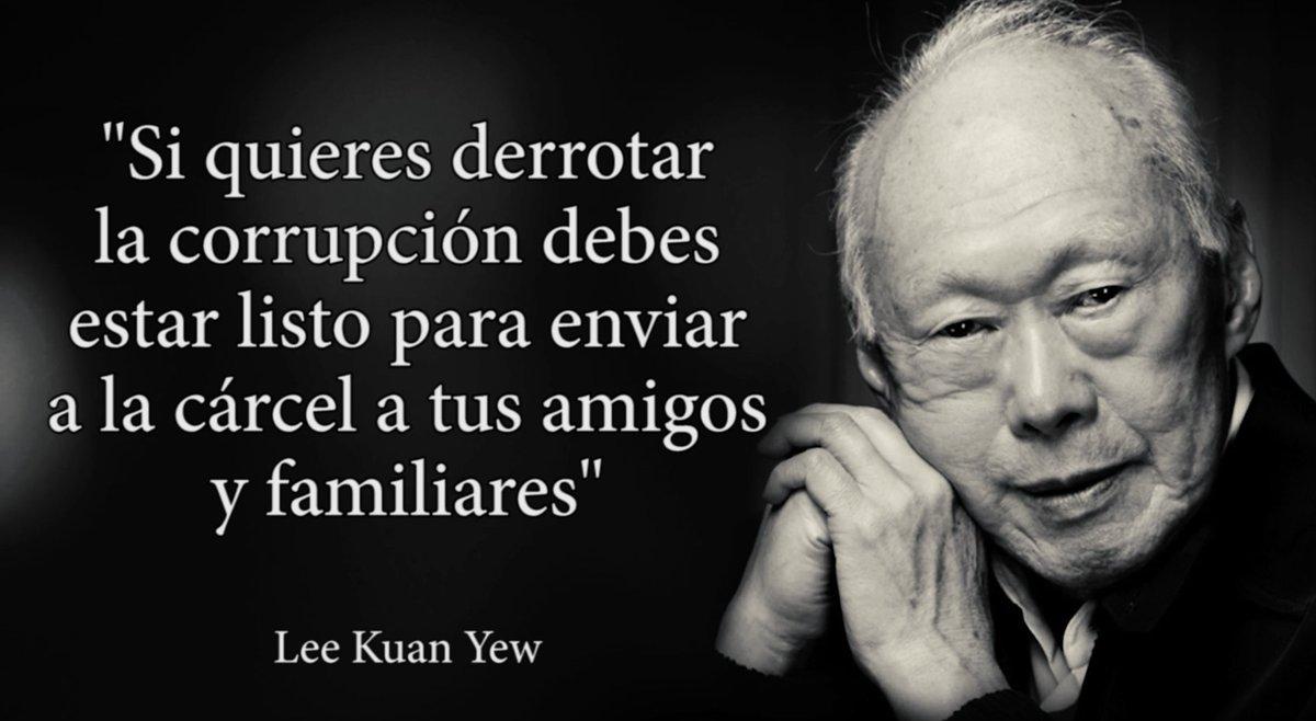 Robertobalaguer On Twitter La Frase Es De Lee Kuan Yew