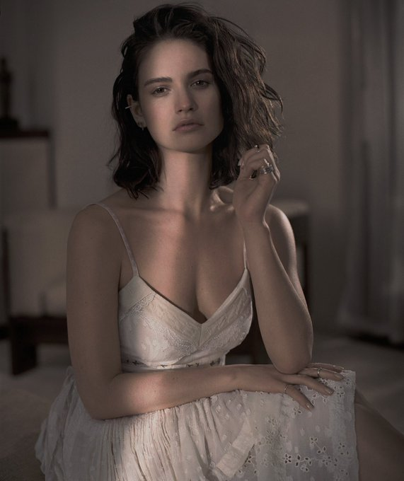 Happy birthday to the Goddess that is miss Lily James