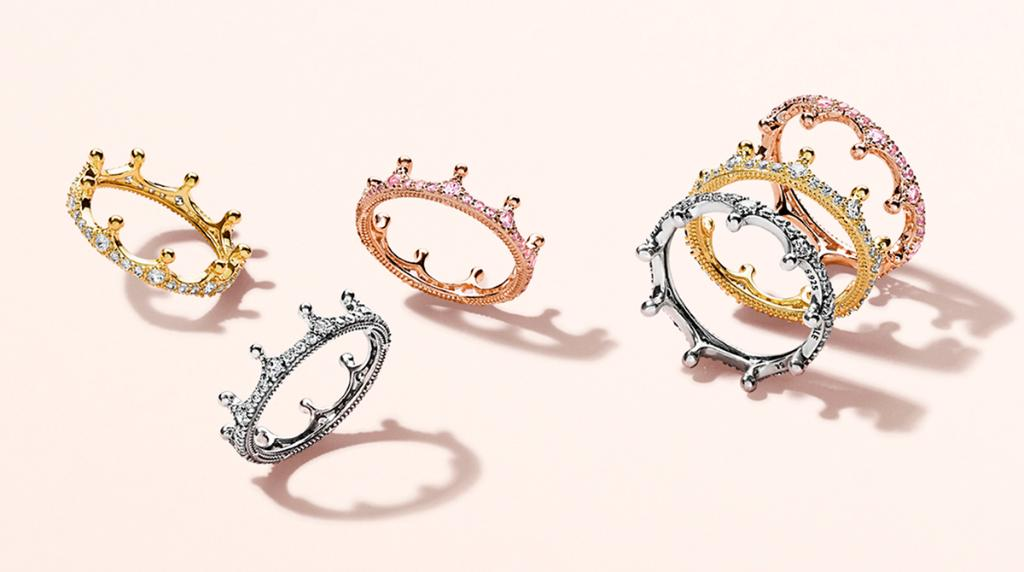 04528667f stack together or wear on its own the new enchanted crown ring is the  perfect royal