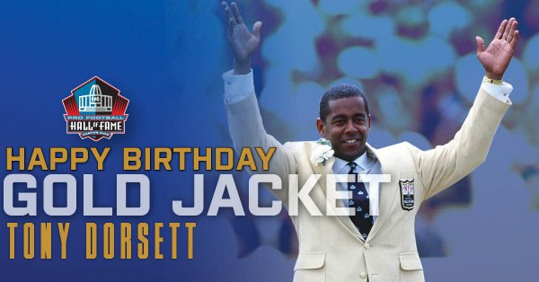 Happy Birthday to HOF RB Hall of Fame Enshrinement Class of 1994. to wish Happy Birthday!