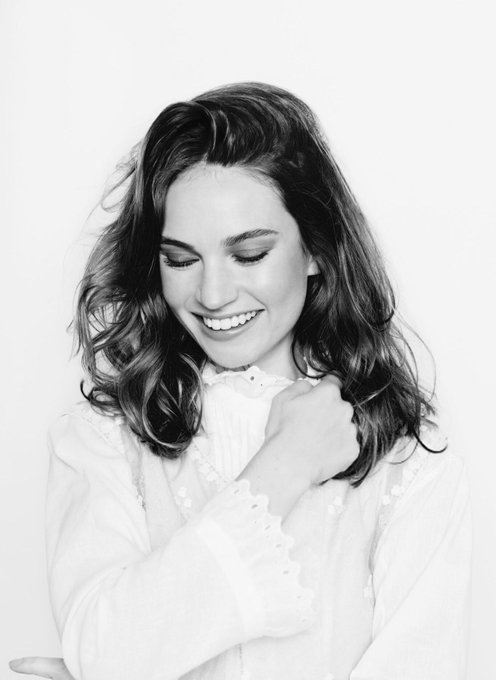 Our dear Lily turns 29 today! Happy birthday Lily James