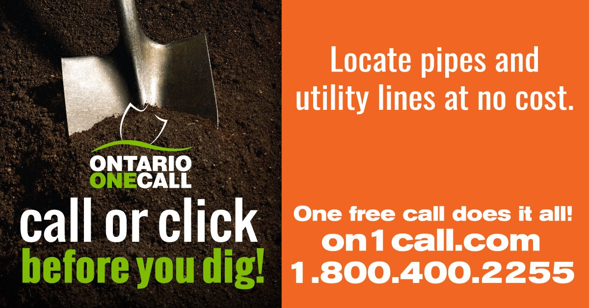 Ontario One Call On Twitter Ontario One Call And The Home Depot Have Teamed Up To Help You Dig Safe Find Our Dig Safe Kits In The Tool Rental Department At The