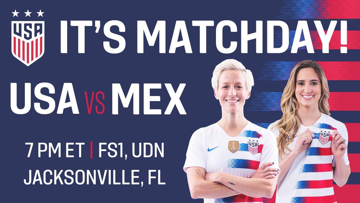 #USAvMEX coverage begins at 7 pm ET on @...
