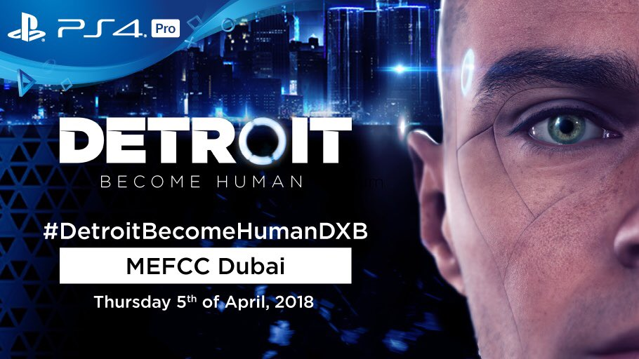 detroit become human on twitter we 39 re attending the. Black Bedroom Furniture Sets. Home Design Ideas