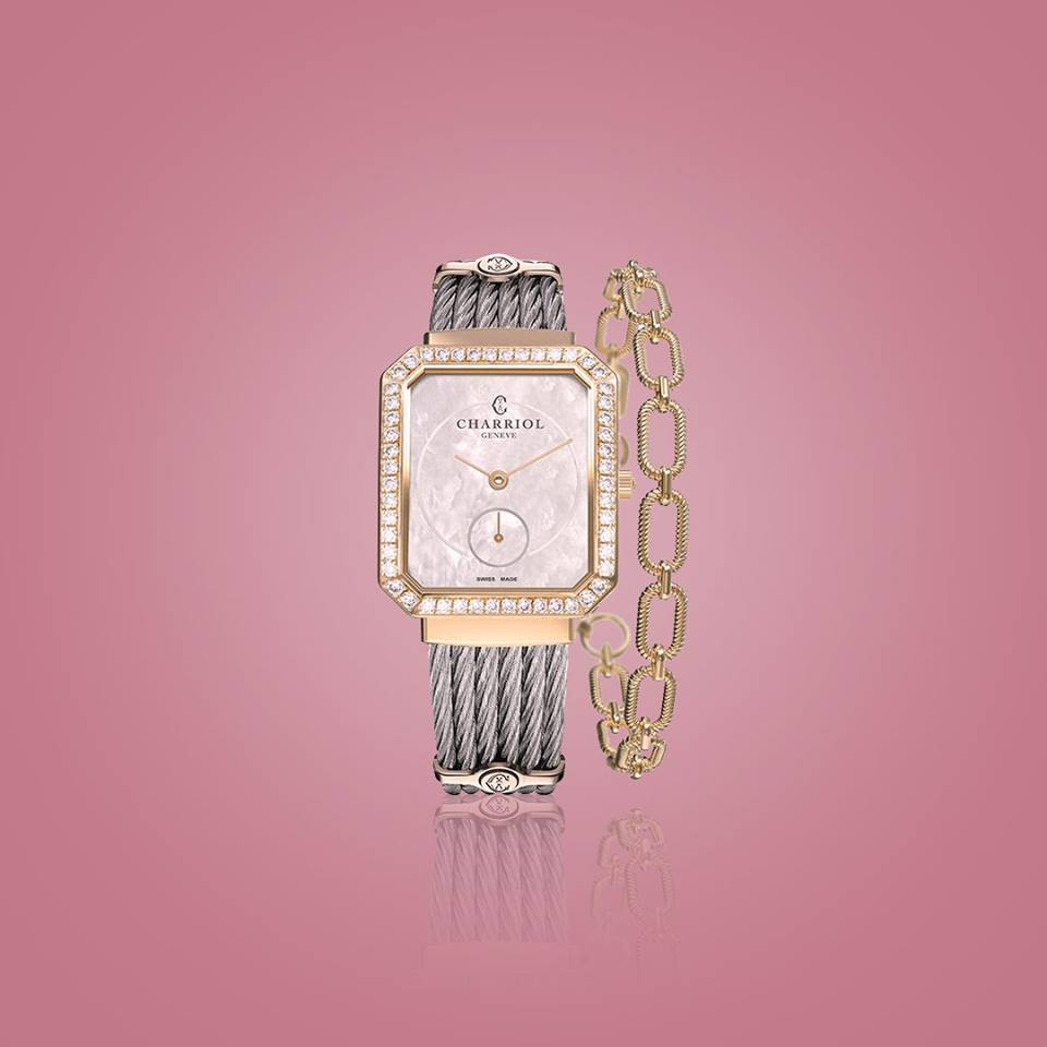 e62fe6eebf4be ... piece ساعة سان تروبيه مانسارت الجديدة  كلاسيكية، راقية، وأنيقة   Alhussaini  Charriol  Charriolksa  Charriolwatch  watch  watches   timepiece  timepiece ...
