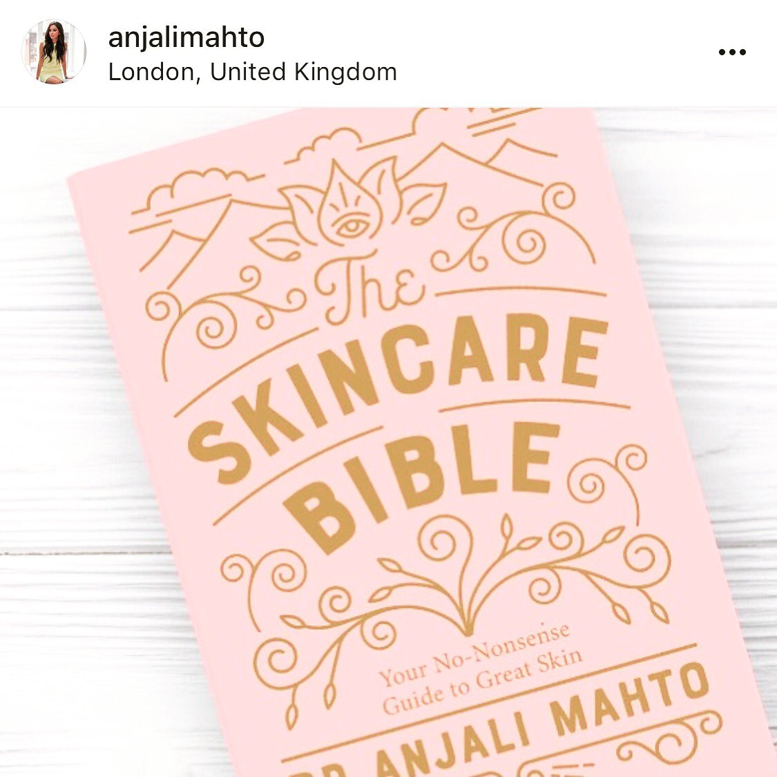 Arti mahto welshtealeaf twitter congratulations to dranjalimahto on the launch of her new book the skincare bible we hear its a great read stopboris Gallery