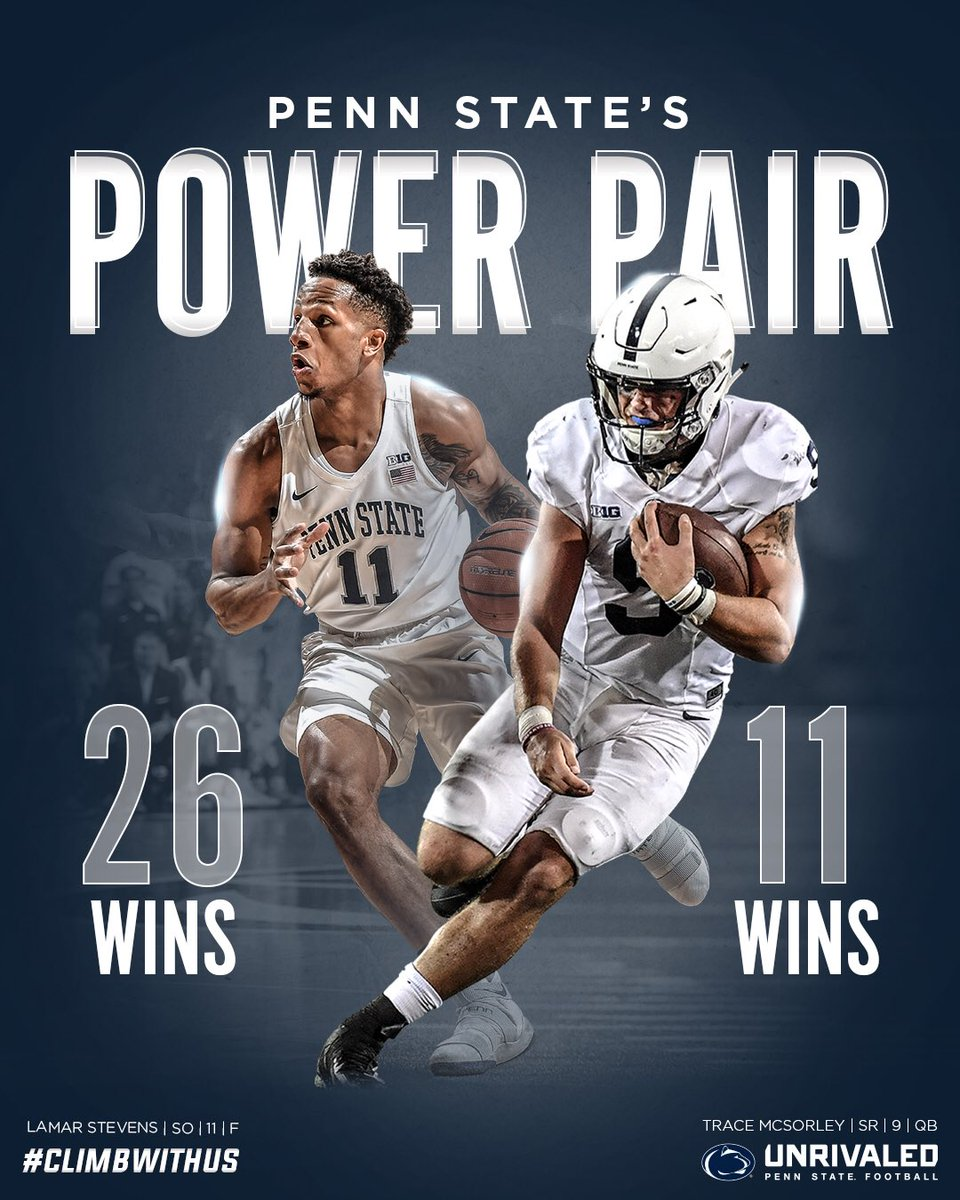Penn State Athletics On Twitter Power Pair Pennstate Is One Of