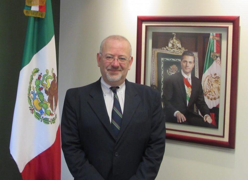 Image result for Mexican Consul General Francisco Javier Diaz de Leon