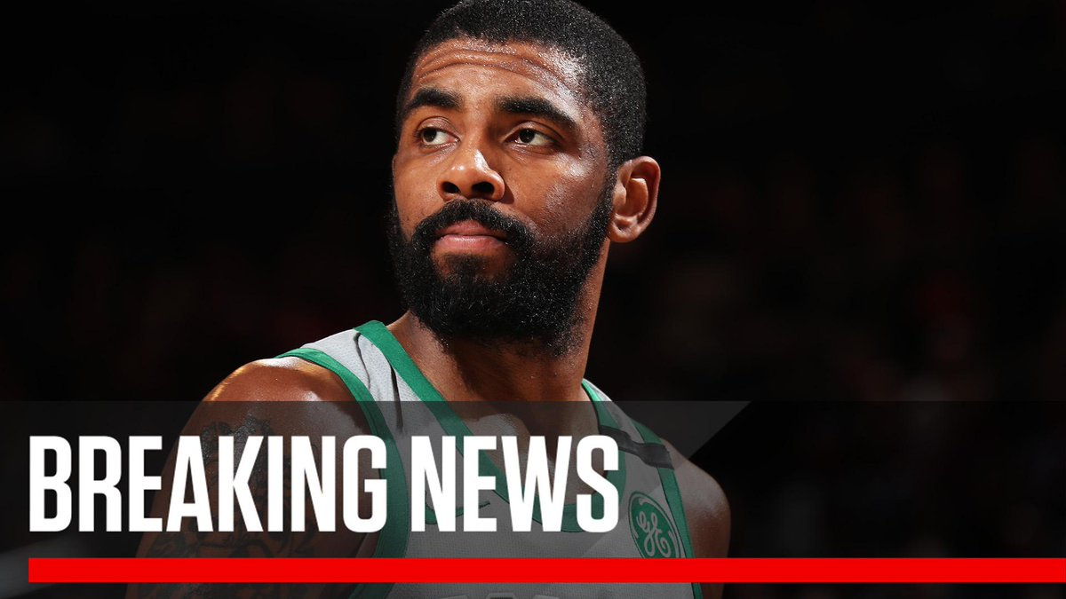 Breaking: In the aftermath of left knee surgery, Kyrie Irving will miss the rest of the regular season and playoffs. (via @WojVerticalNBA)