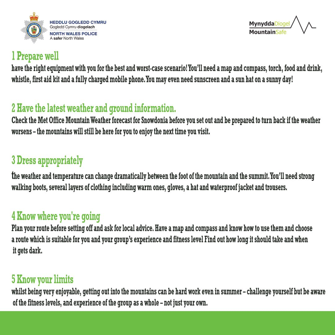 North wales police on twitter planning on visiting snowdonia this 1000 am 5 apr 2018 solutioingenieria Gallery