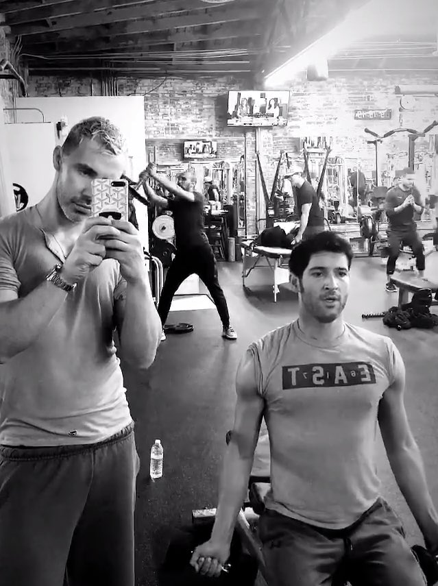 "Tom Ellis Fans 😈💜 on Twitter: ""Today's work out w/# ..."