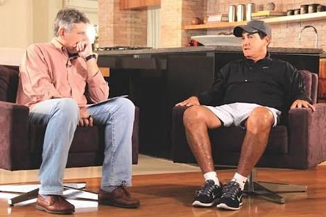 Um bom papo com o Cléber Machado sobre f...