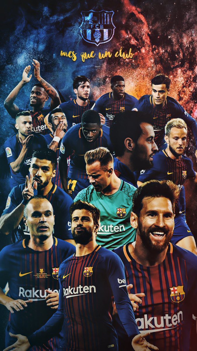 Barca Universal On Twitter Edit Fc Barcelona Players Lockscreen