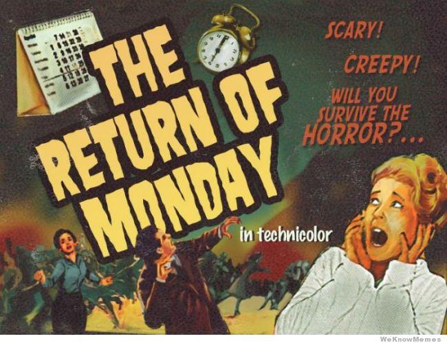 Did we all survive #Fridaythe13th?  #Monday&#39;sBack #Back2School <br>http://pic.twitter.com/fBQEbV1U7B