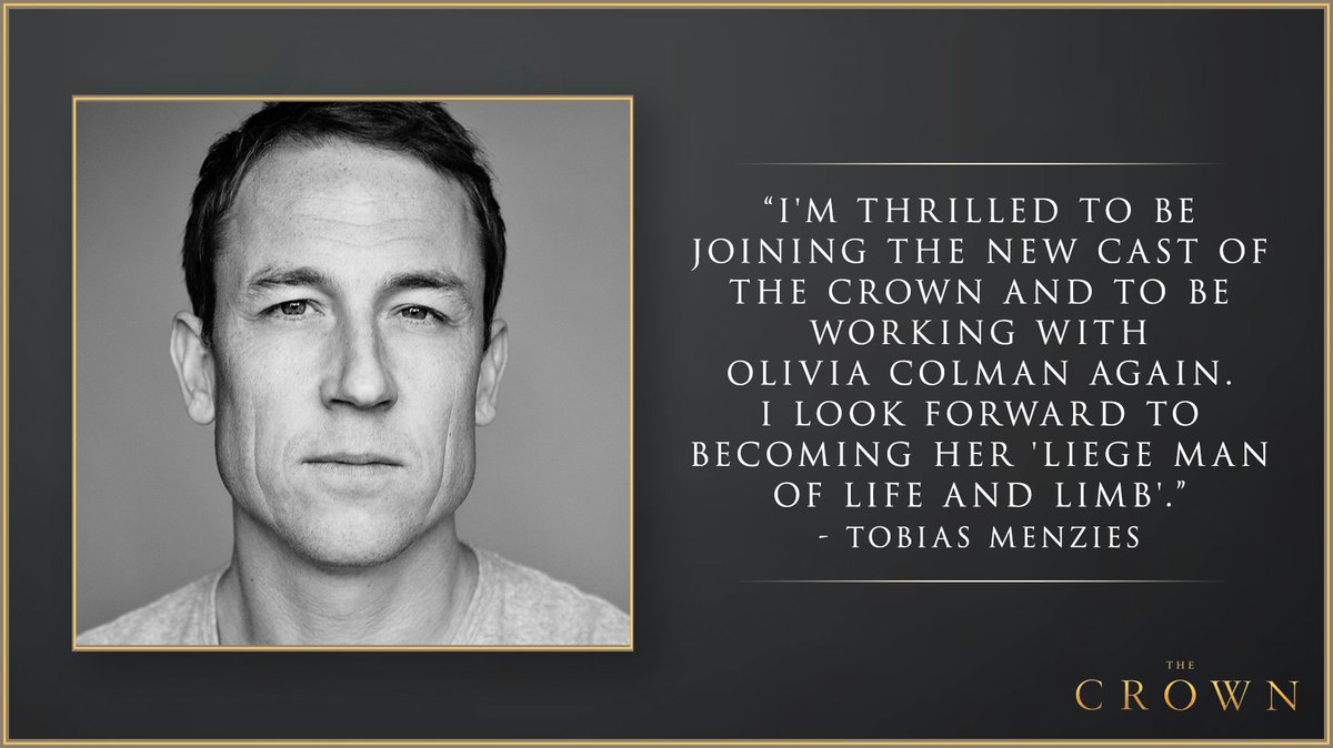 Watch Tobias Menzies to Play Prince Philip in The Crown video