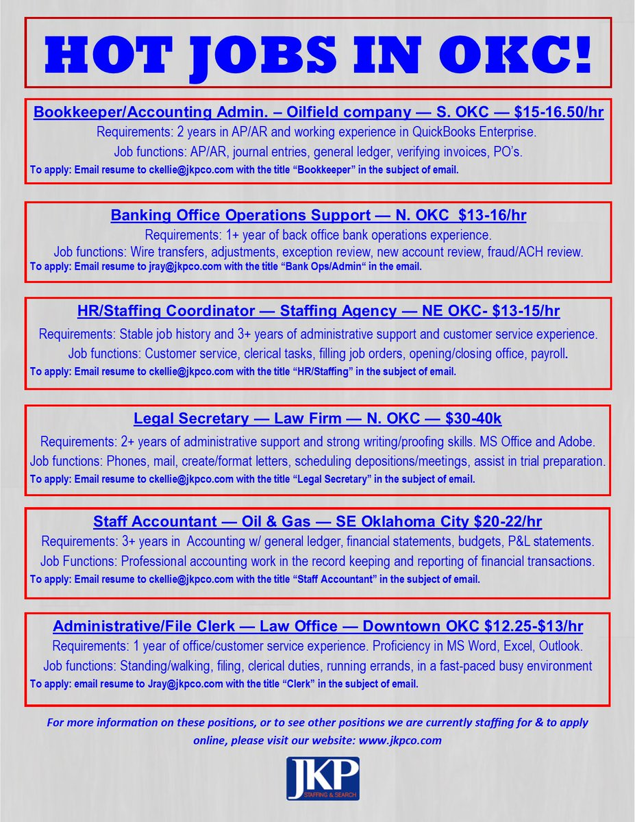 Unique Oklahoma Accounting Resume Image Collection - Administrative ...