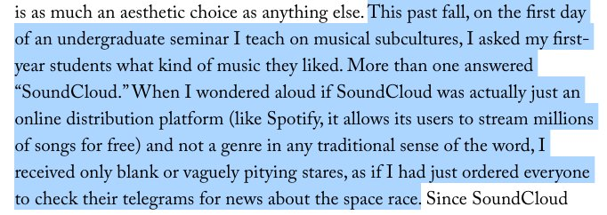 .@amandapetrusich is my favorite soundcloud rapper newyorker.com/culture/cultur…