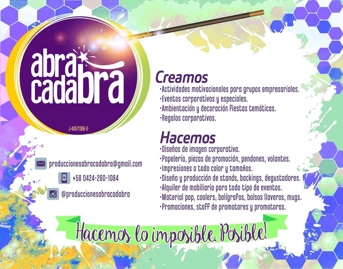 Produccionesabracadabra Hashtag On Twitter