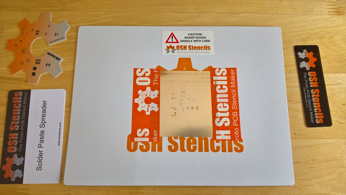 Oshstencils Twitter Posts With Printed Circuit Boards Label 2 Replies 1 Retweet 5 Likes
