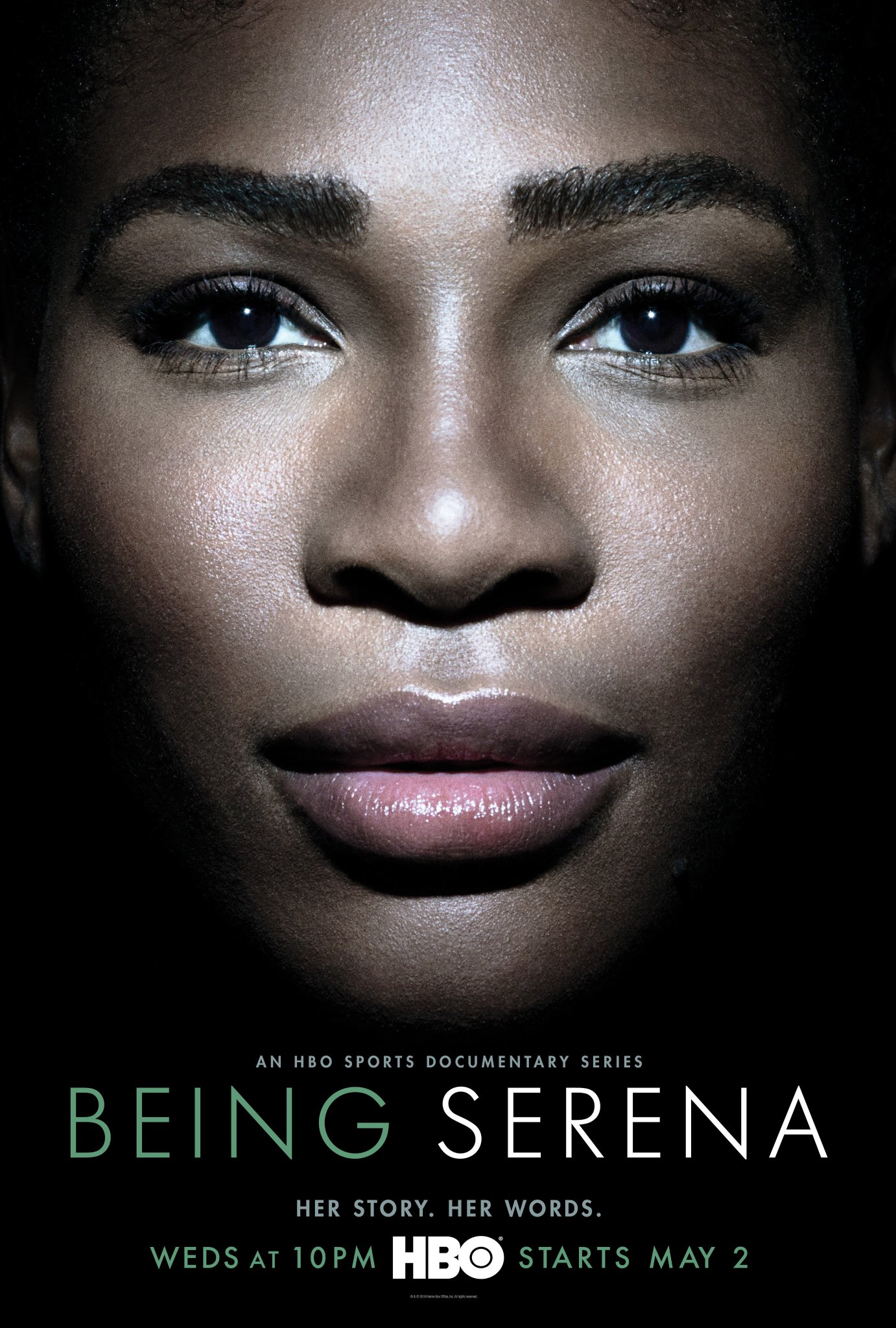 My story. My words. My @HBO documentary series, #BeingSerena, starting May 2. Find out more: https://t.co/kmiVBe45ev https://t.co/0INKTYzJiu