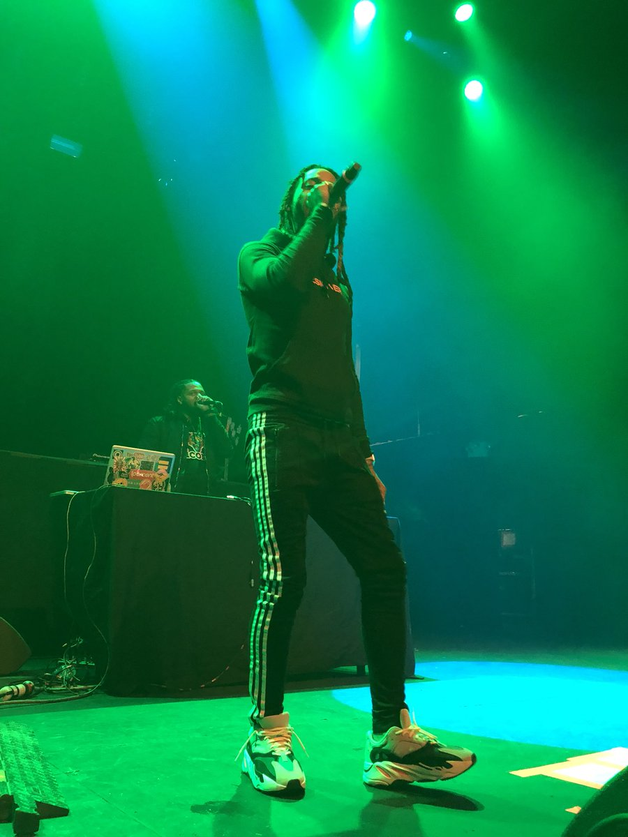 .@valee was on 🔥🔥🔥 tonight in NYC!