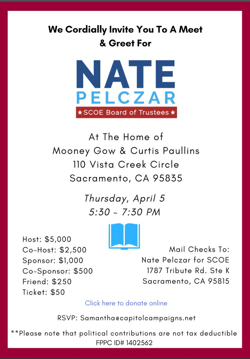 Sac rainbow chamber on twitter support sacramento county board of sac rainbow chamber on twitter support sacramento county board of education candidate nate pelczar tonight april 5 sacrainbowpac endorsed nate and 14 m4hsunfo
