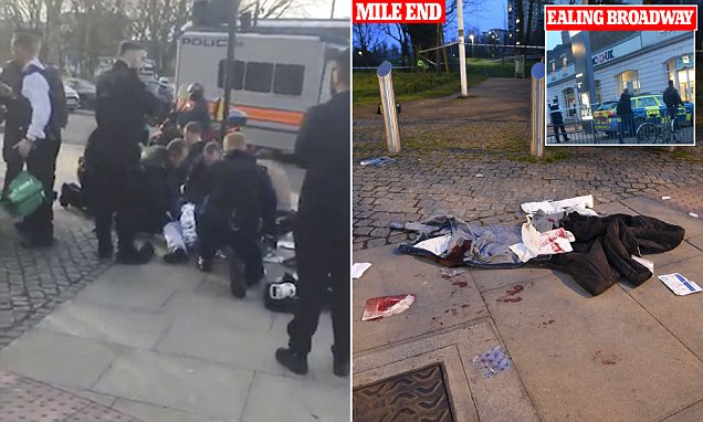Six teenagers are stabbed within 90 minutes tonight in FOUR separate knife attacks across London  https://t.co/qvB8BGtZvg