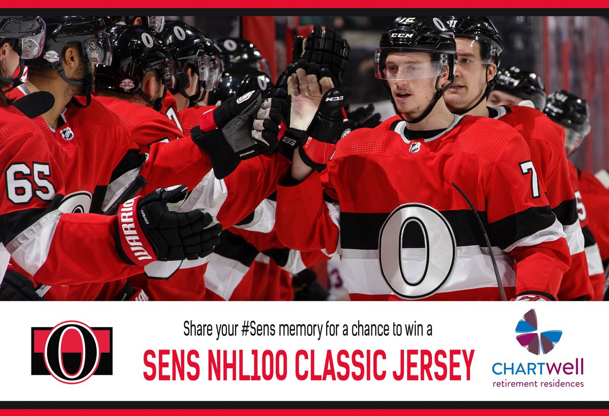 The  Sens and Chartwell Retirement Residences want you to relieve your  favorite hockey memories. 970480683