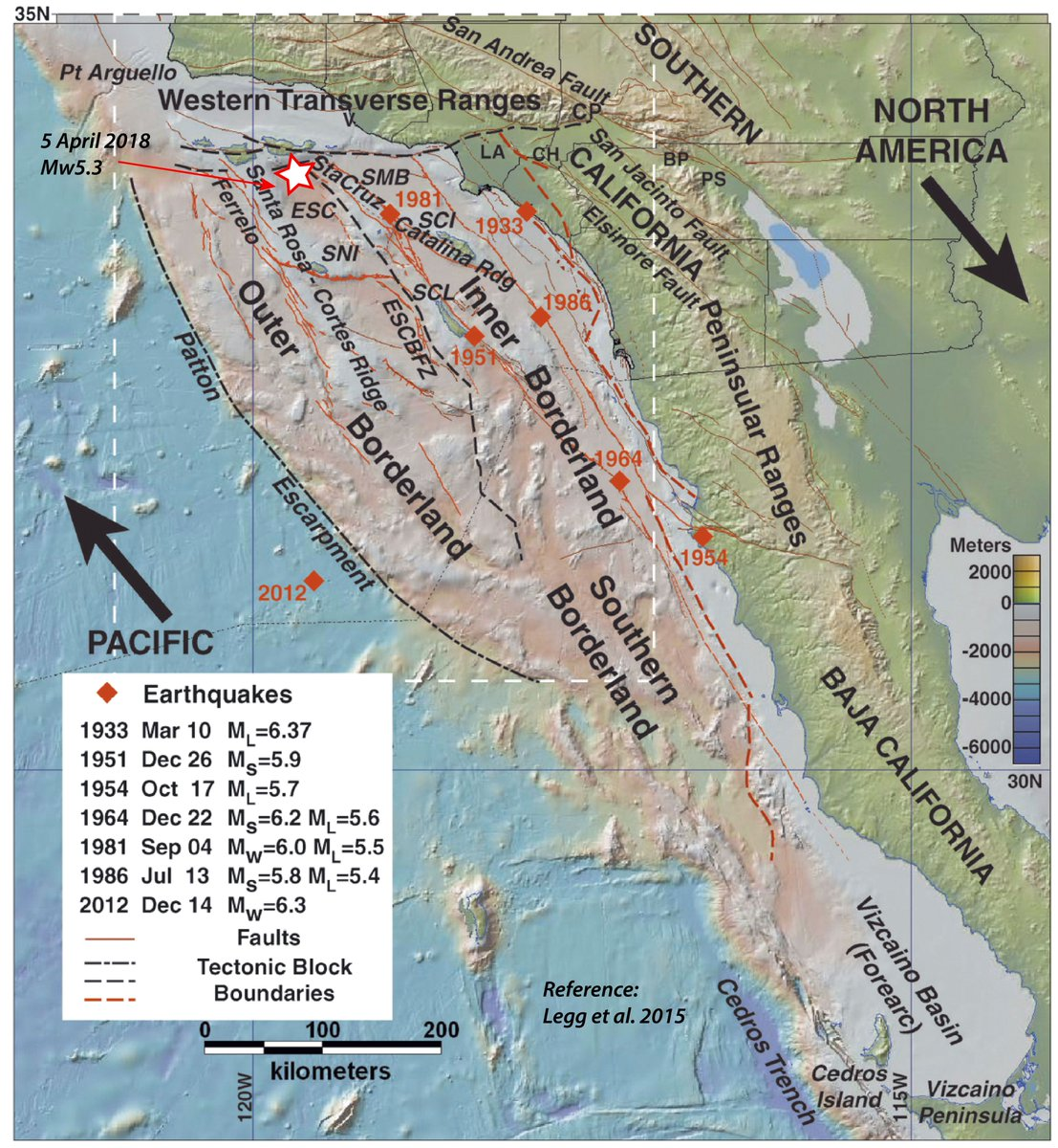 Ron Lin On Twitter This Map By Caltech Seismologist Egill