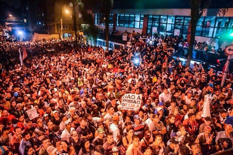 De que lado da história você está? #LulaValeALuta  Foto: Gian Martins