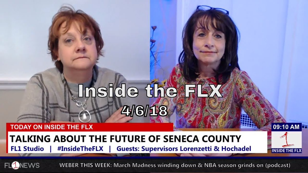 INSIDE THE FLX: Supervisors Lorenzetti, Hochadel talk issues in Seneca County (podcast)