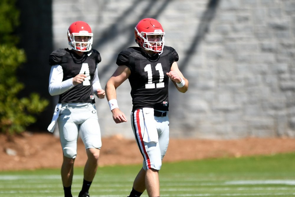 huge discount defba 61e41 WATCH Check video interviews UGA QB Jake Fromm wide receiver ...