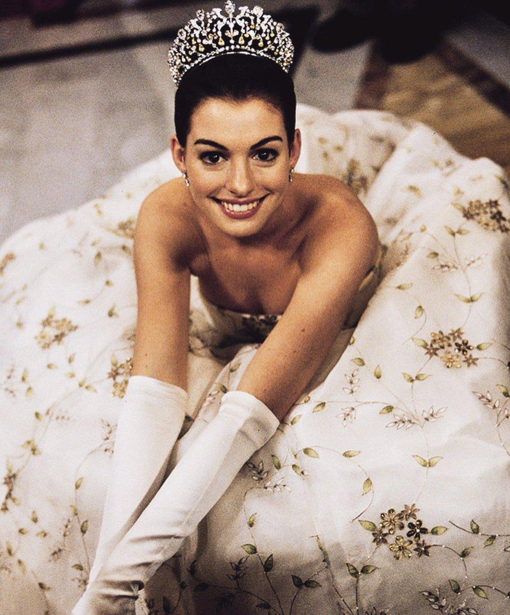 Anne Hathaway en El diario de una Princesa