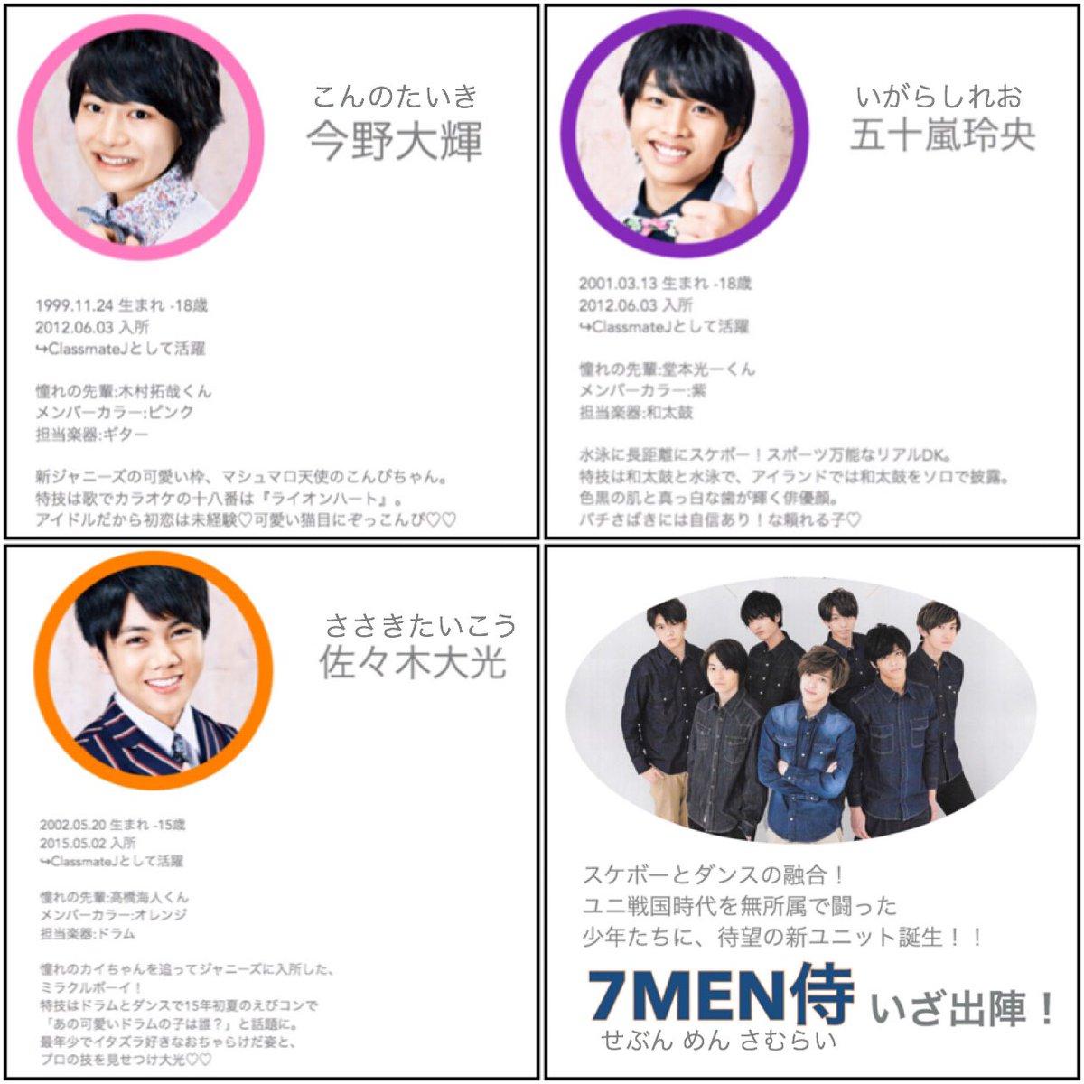 侍 7 りんね men