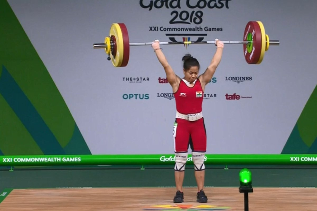 CWG 2018: Twitter Reacts As Weightlifter Sanjita Chanu Wins India's Second Gold Medal 1