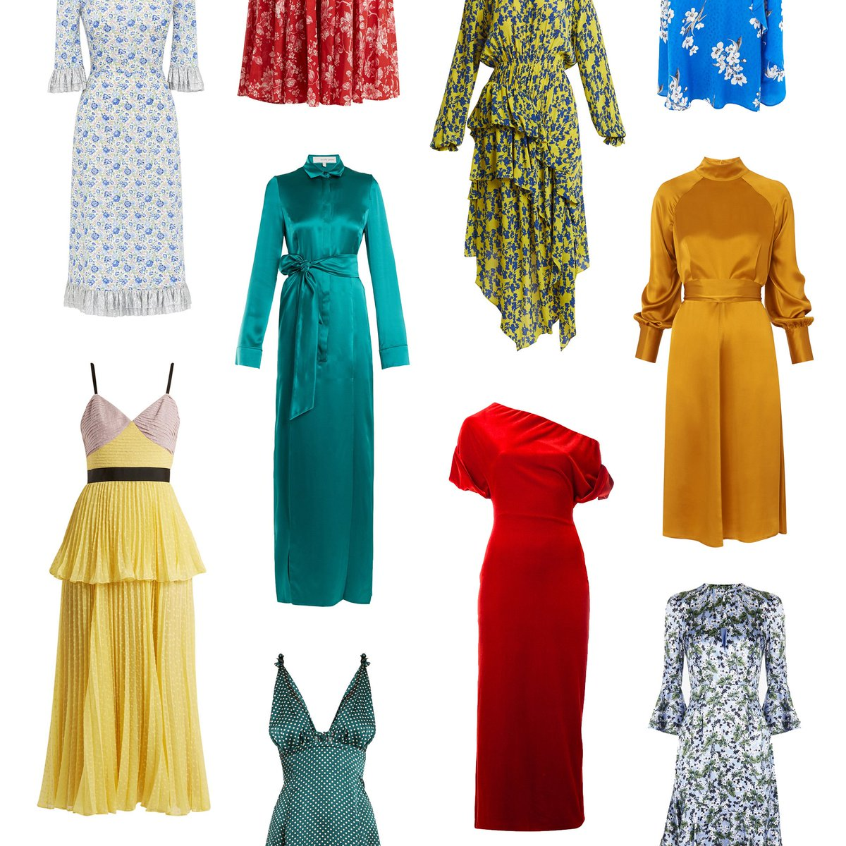 Spring Wedding Guest Dresses.British Vogue On Twitter 20 Of The Best Spring Wedding Guest