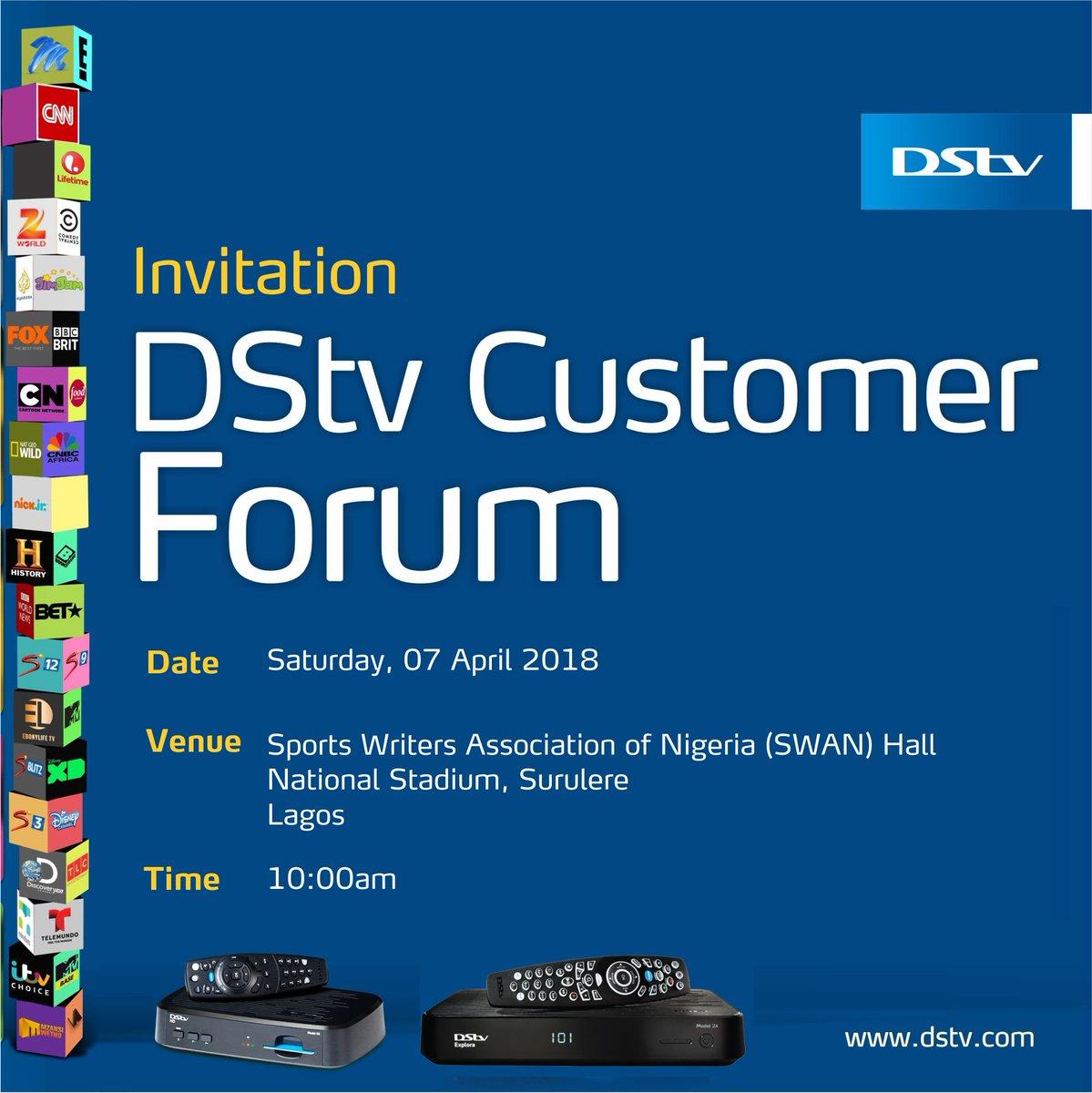 DStv Nigeria Care (@DStvNgCare) | Twitter