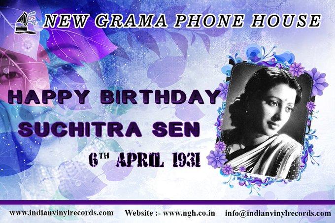 !!Happy Birthday !! !!!Suchitra Sen ji !!!