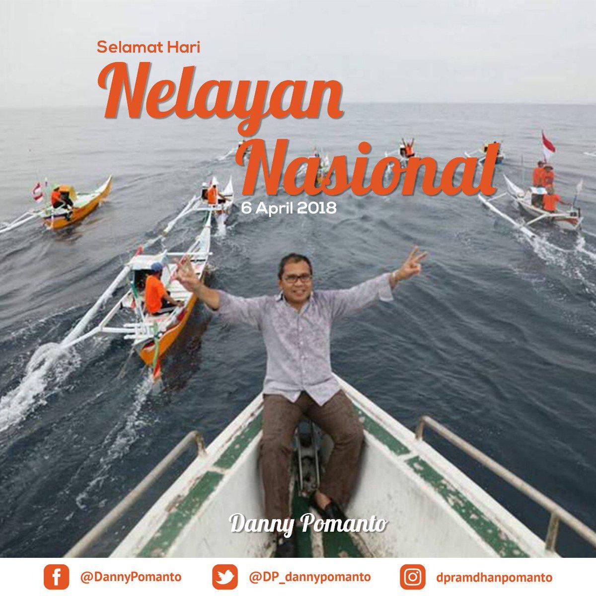 @DP_dannypomanto Selamat Hari Nelayan Nasional kepada seluruh nelayan Indonesia, terutama yang ada di Makassar. Terima kasih telah menunjang perekonomian Makassar menjadi lebih baik.  #SelamatHariNelayanNasional #NelayanNasional https://t.co/YiqdeWsu59