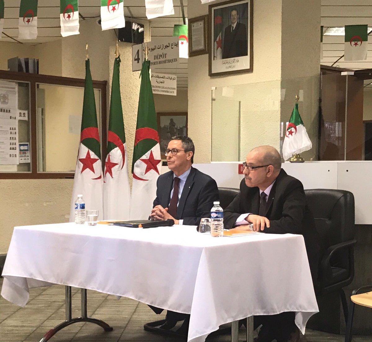 Abdelkader Mesdoua On Twitter Réunion Avec Le Personnel Du Consulat D Algerie à Saintetienne En Présence Du Consul Discussions Autour Des Méthodes Et Des Moyens à Mettre En Place Pour Améliorer Les Conditions