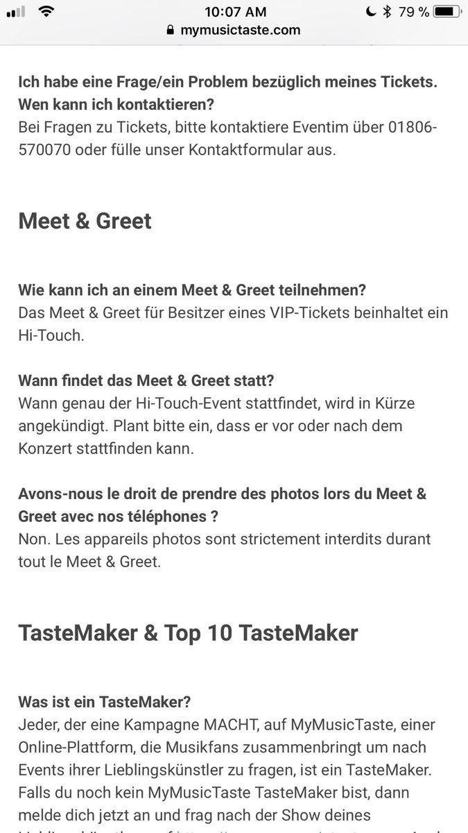 Großartig Wie Ein Konzert Ticket To Make Bilder - FORTSETZUNG ...