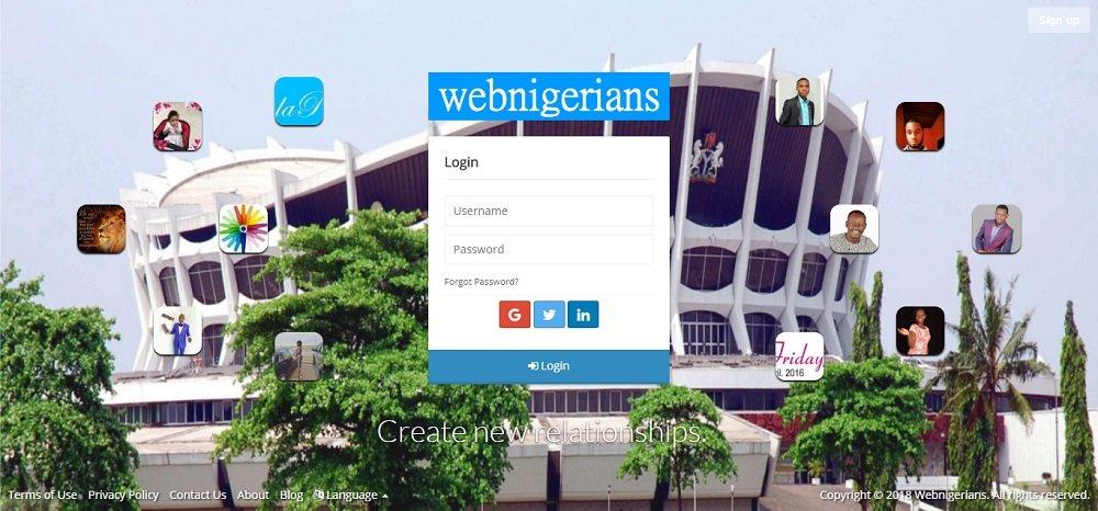 Join Webnigerians Social Network